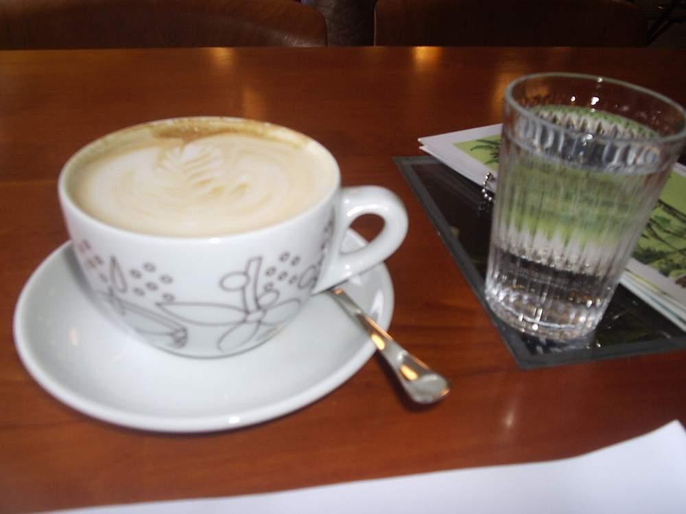 Kafe v Café Atlas