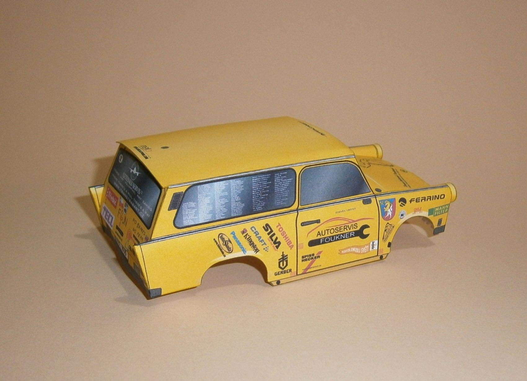 Expediční Trabant BABU - Jižní Amerika