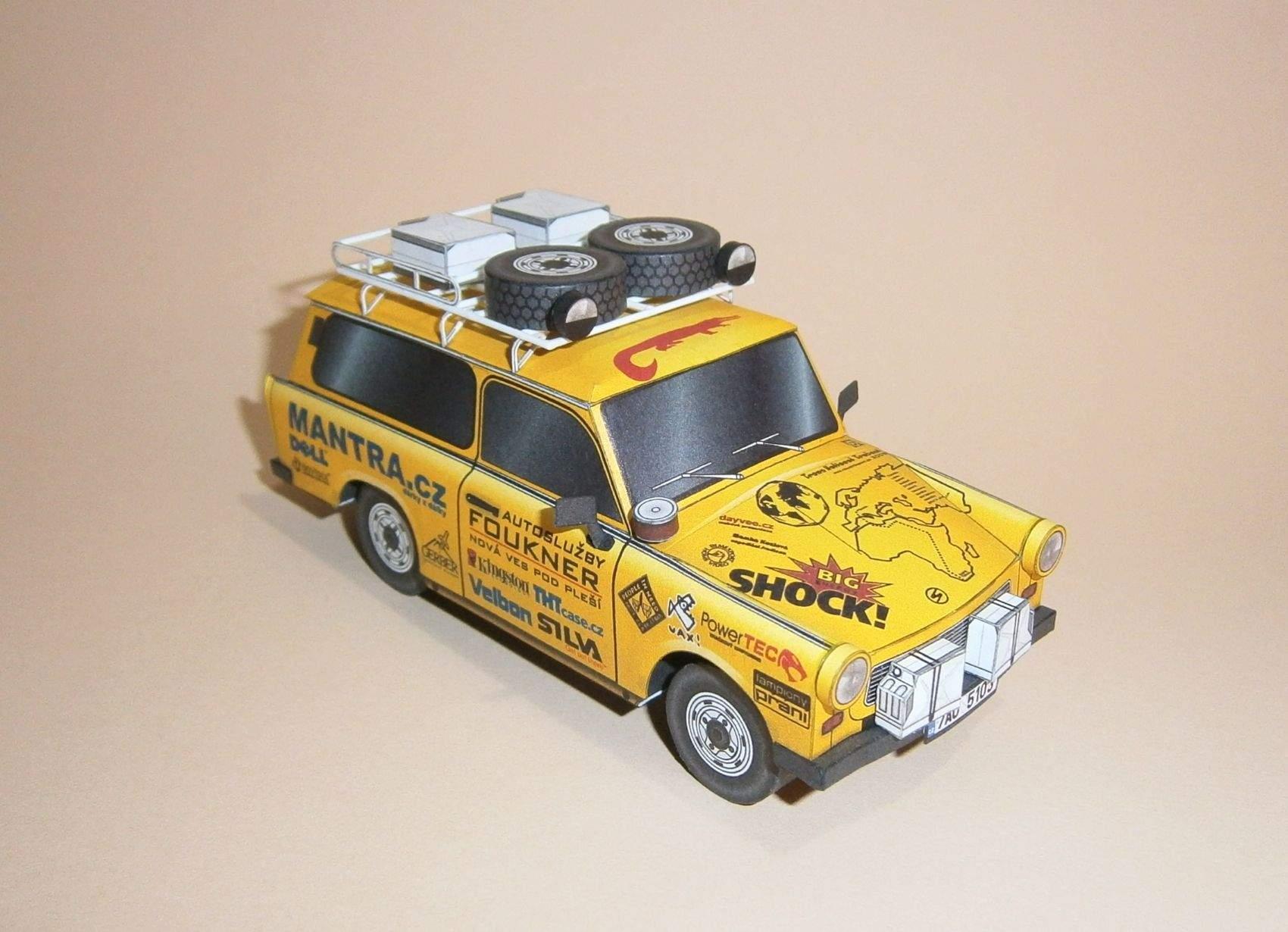 Expediční Trabant EGU - Afrika