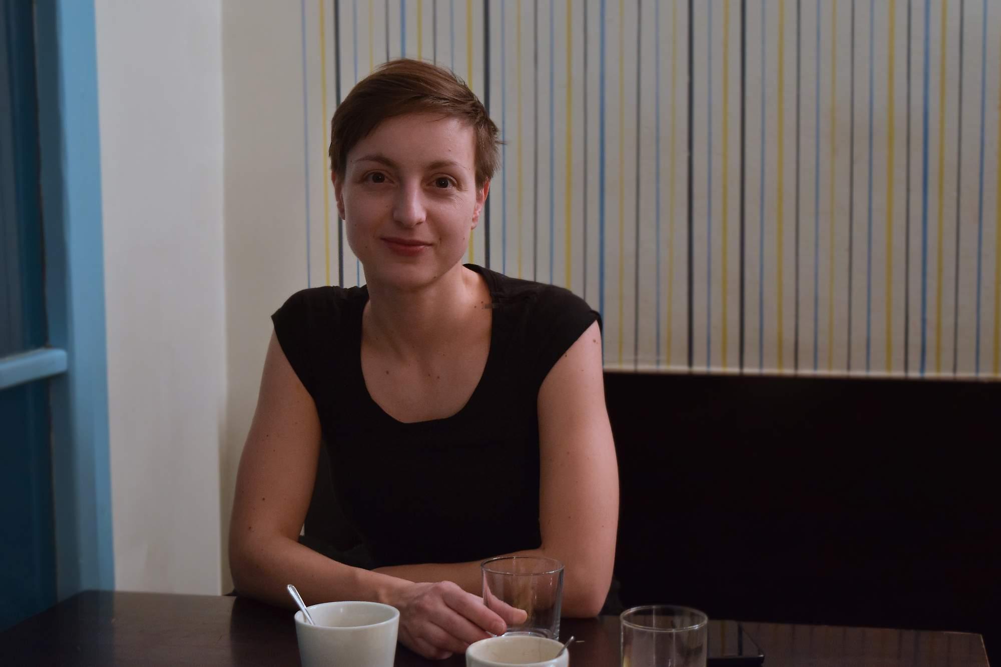 Organizátorka Týdne výtvarné kultury Irena Rodriguez Točíková. Foto: Lenka Jebáčková