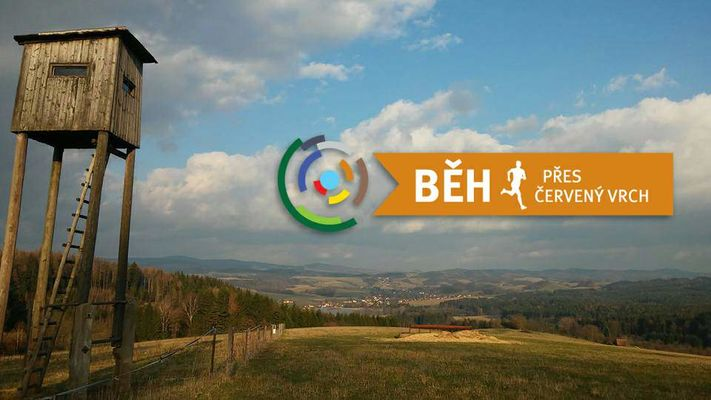 Běh přes Červený vrch - 12.6.2016