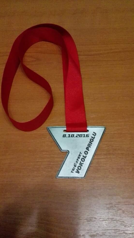 Letošní medaile z Vokolo Priglu