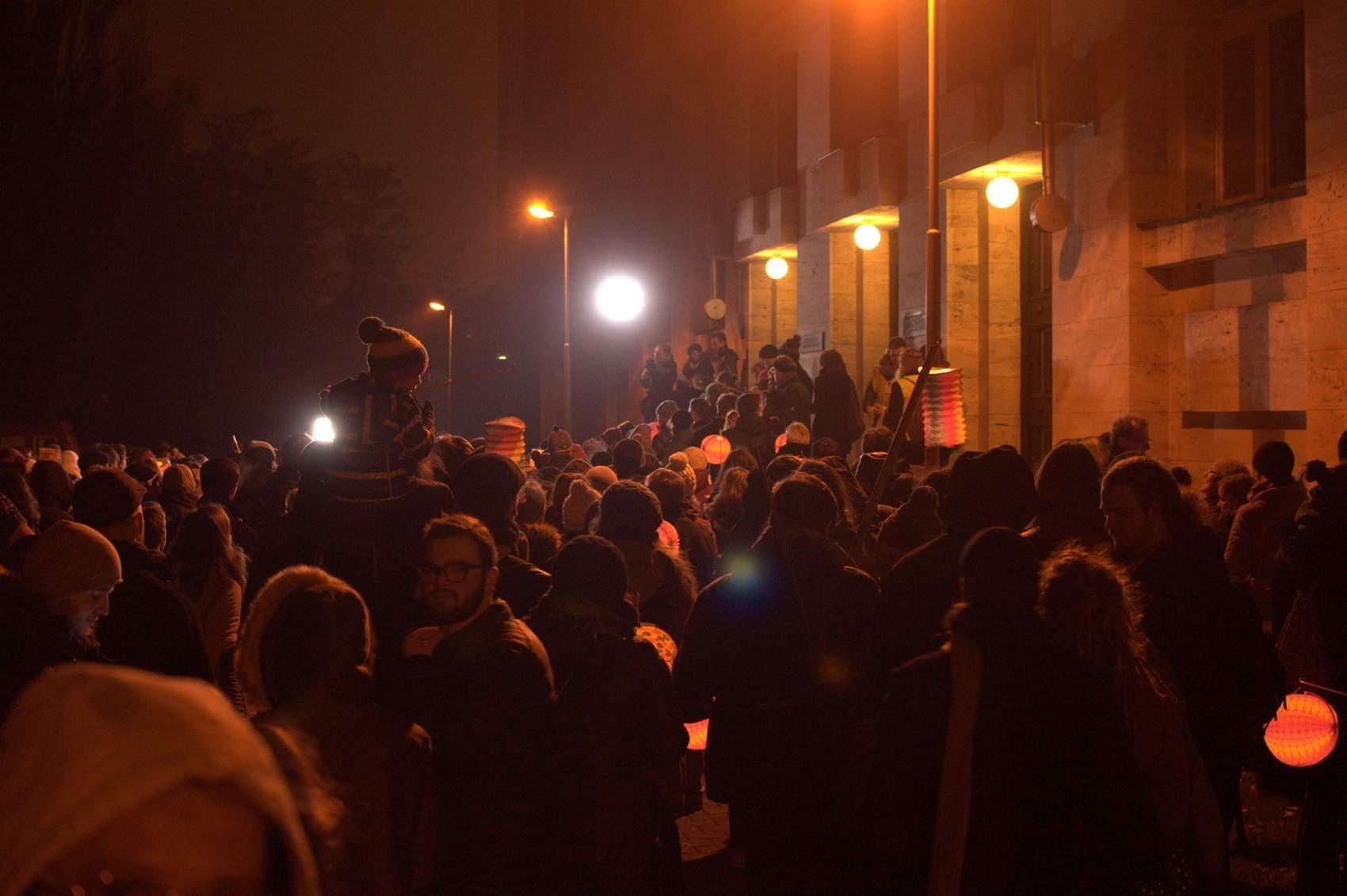 U právnické fakulty vyburcovaly studenty dotazy průvodce. Foto: Michaela Nárožná