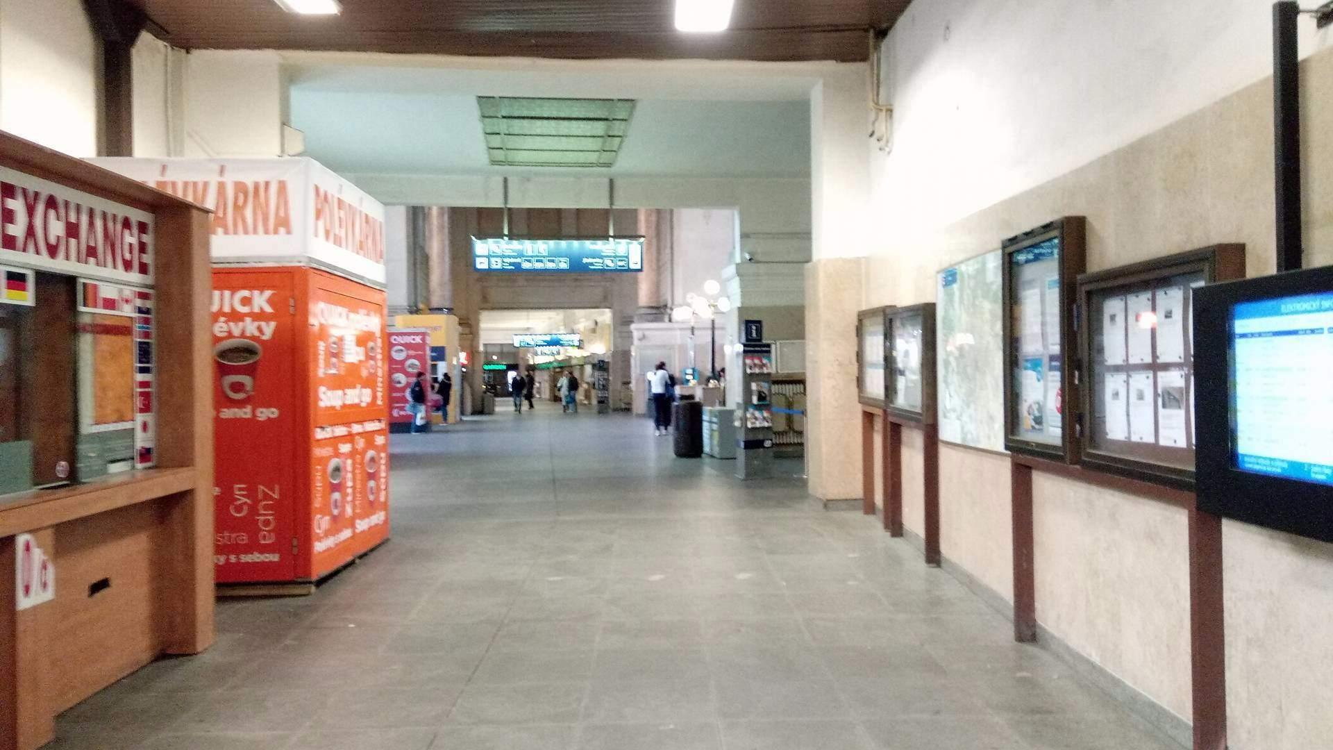Hlavná stanica je často prvým miestom, ktoré cudzinci v Brne navštívia.