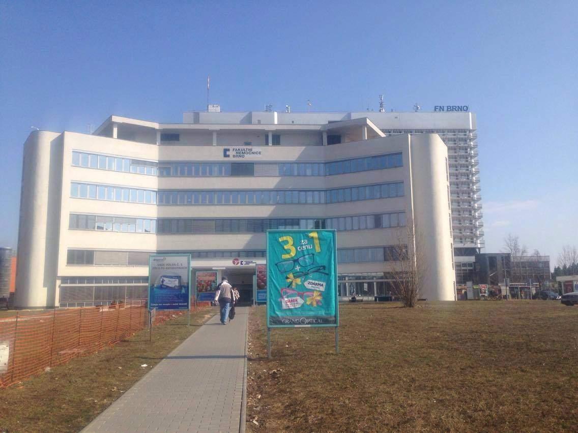Z Fakultní nemocnice Brno by se od nového roku měla stát univerzitní nemocnice. Foto: Klára Vašíčková