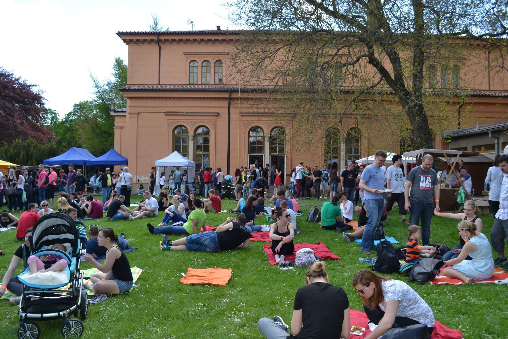 Extreme food festival se konal ve středisku volného času v Lužánkách. Foto: Klára Vašíčková