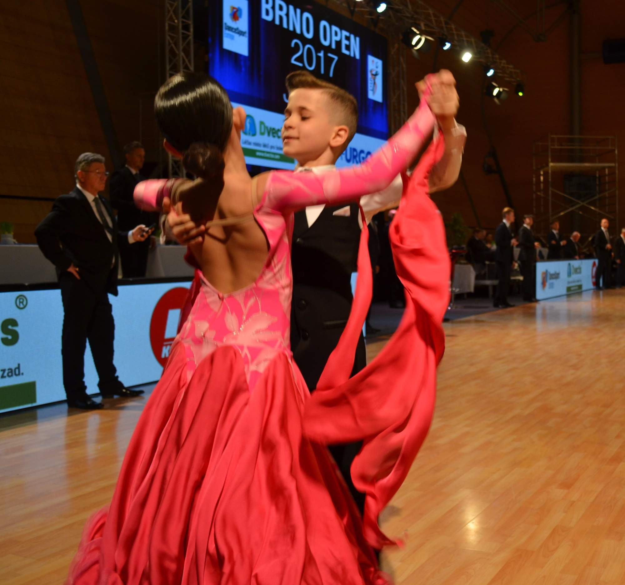 Mladší soutěžící ukázali, že už od útlého věku mají cit pro tanec.