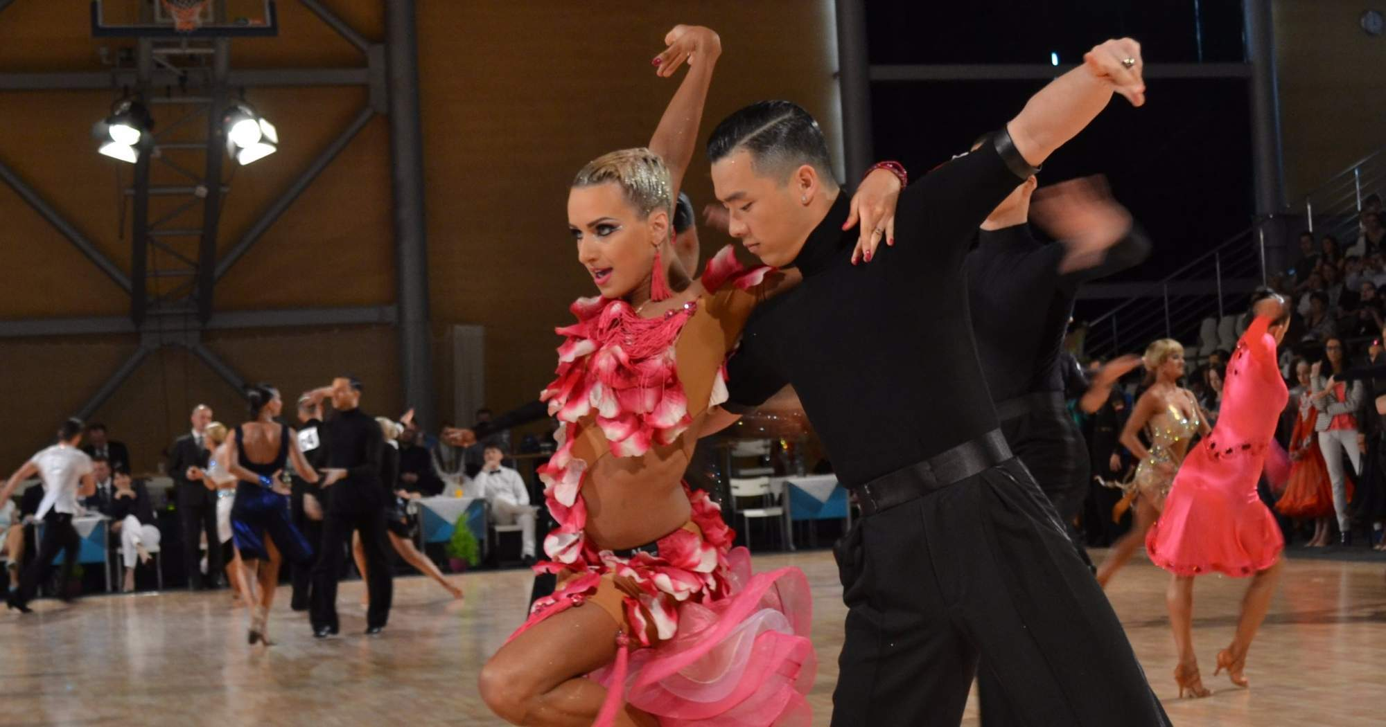 Taneční z celého světa přijeli na patnáctý ročník Brno Open 2017. Foto: Klára Vašíčková