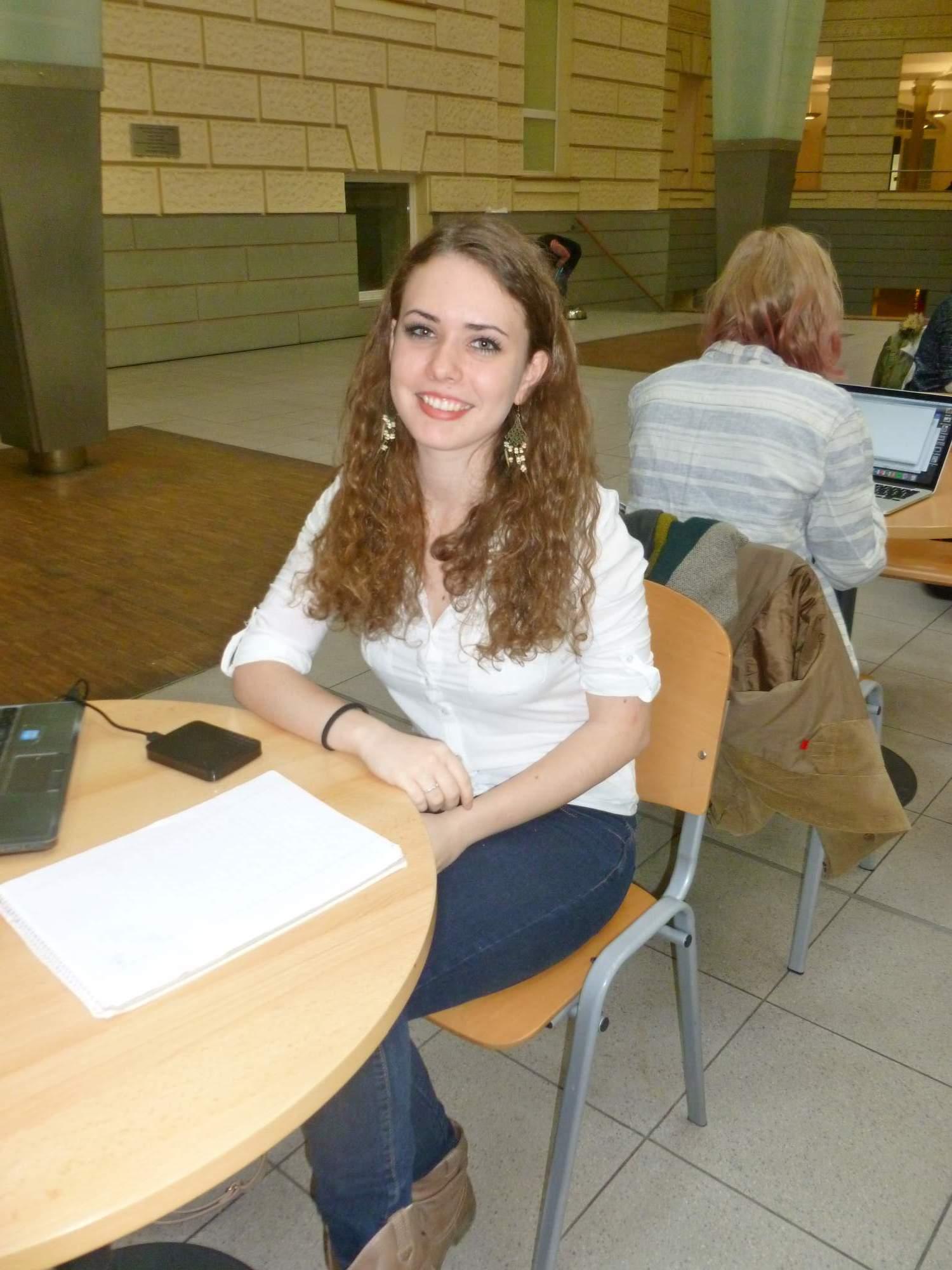 Studentka Martina Debnárová strávila jarní semestr ve Španělsku. Foto: Kristýna Hortvíková