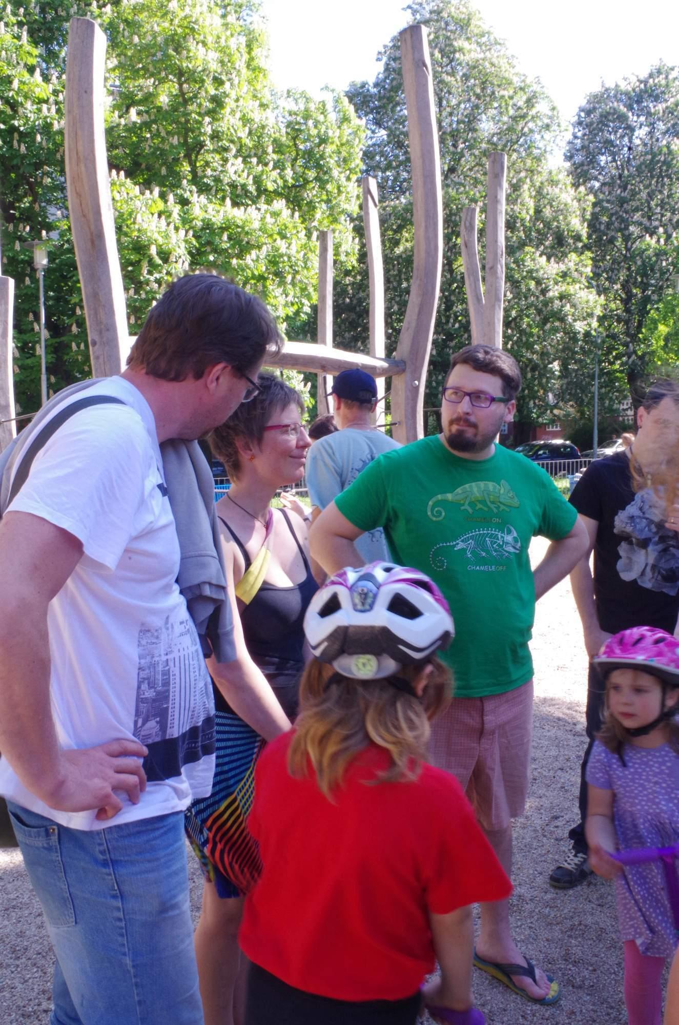 Libor Červínek odpovídal na dotazy návštěvníků. Foto: Eliška Pospíšilová