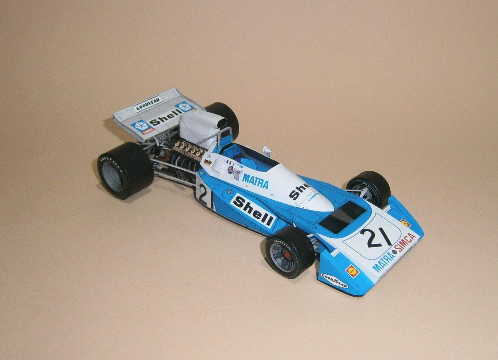 Matra MS 120-04 - J.P.Beltoise, GP Germany 1971