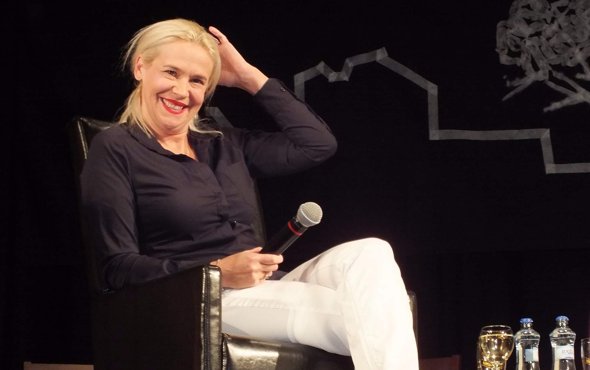 Do Brněnce přijela i dcera herečky Jany Šulcové Rozálie Víznerová. Foto: Nikola Pavlasová