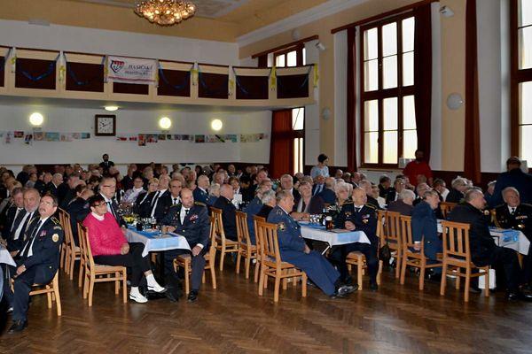 Setkání zasloužilých hasičů Pardubického kraje v Dolní Čermné 5.11.2016