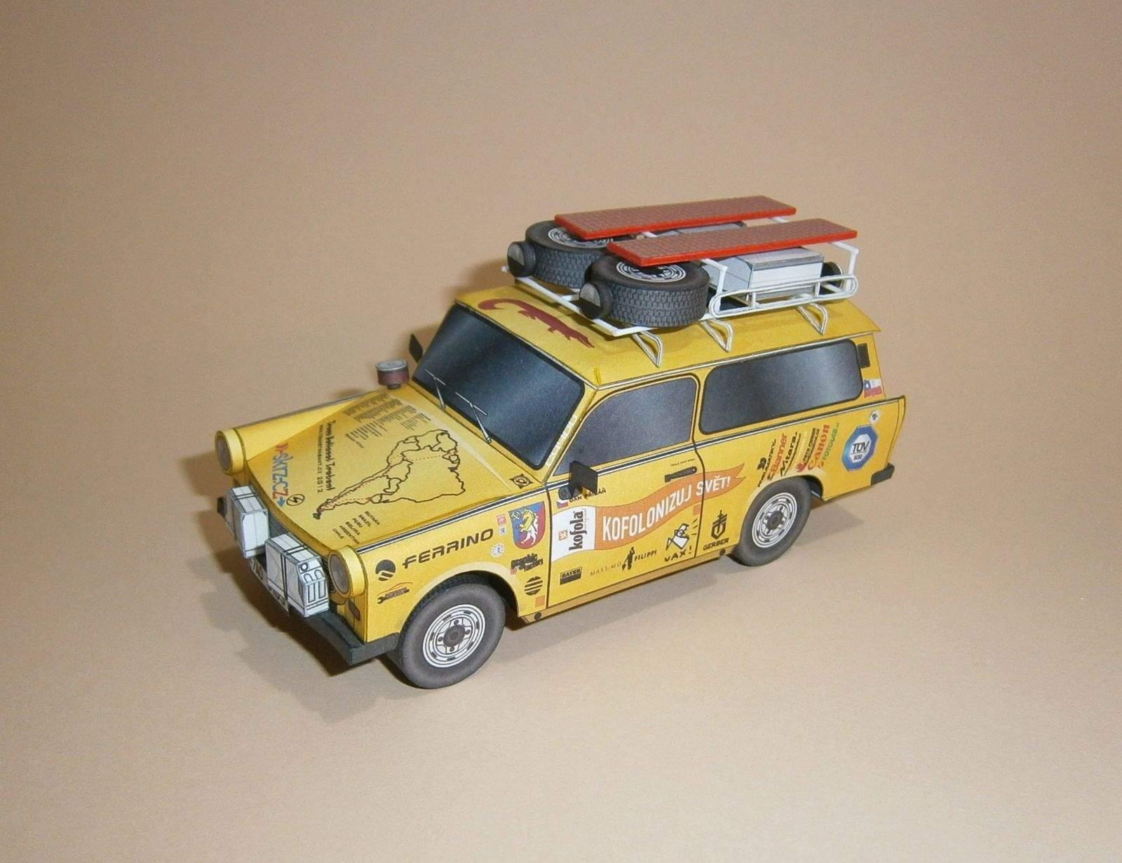 Expediční Trabant EGU - Jižní Amerika