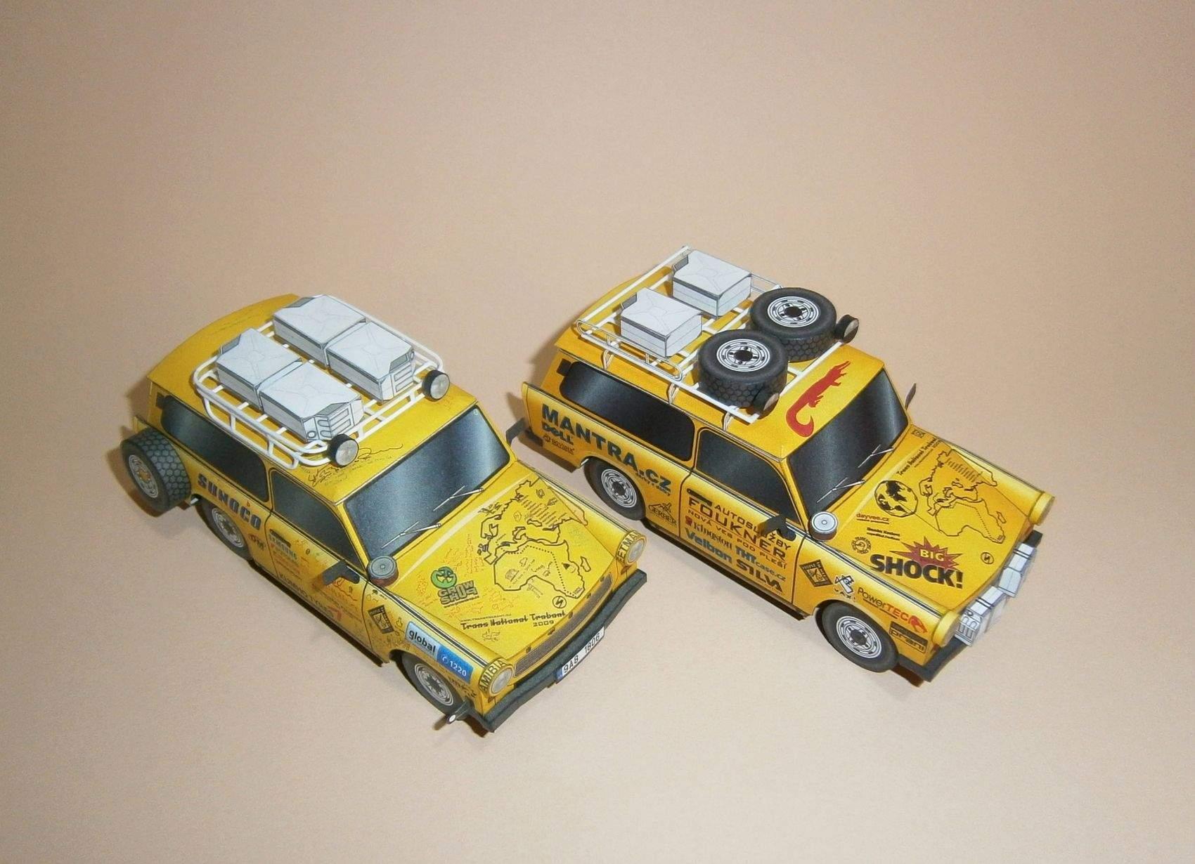 Expediční Trabant BABU - Afrika