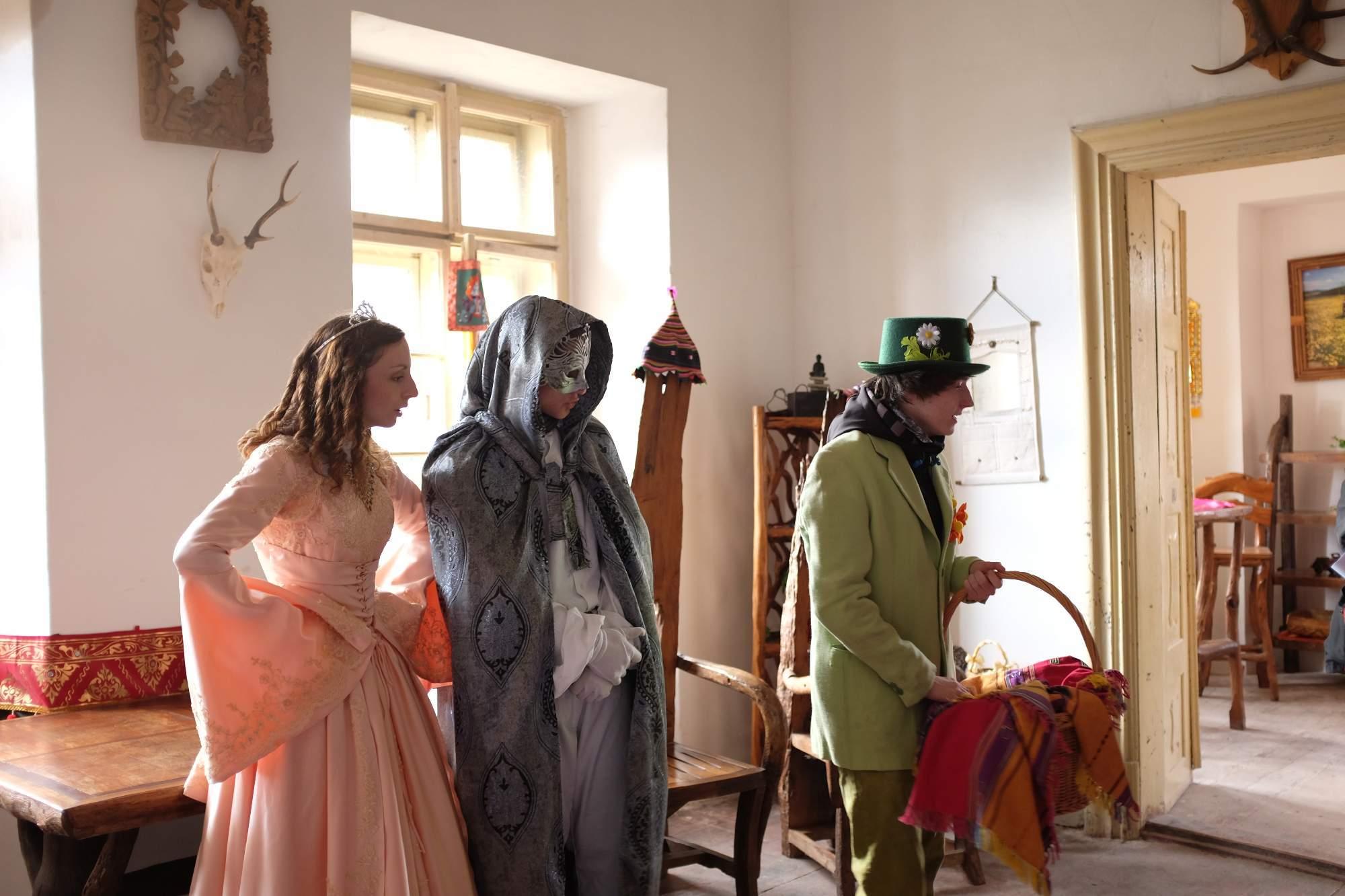 Pohádka v zámku Horní Libchava. Foto: Pavlína Černá