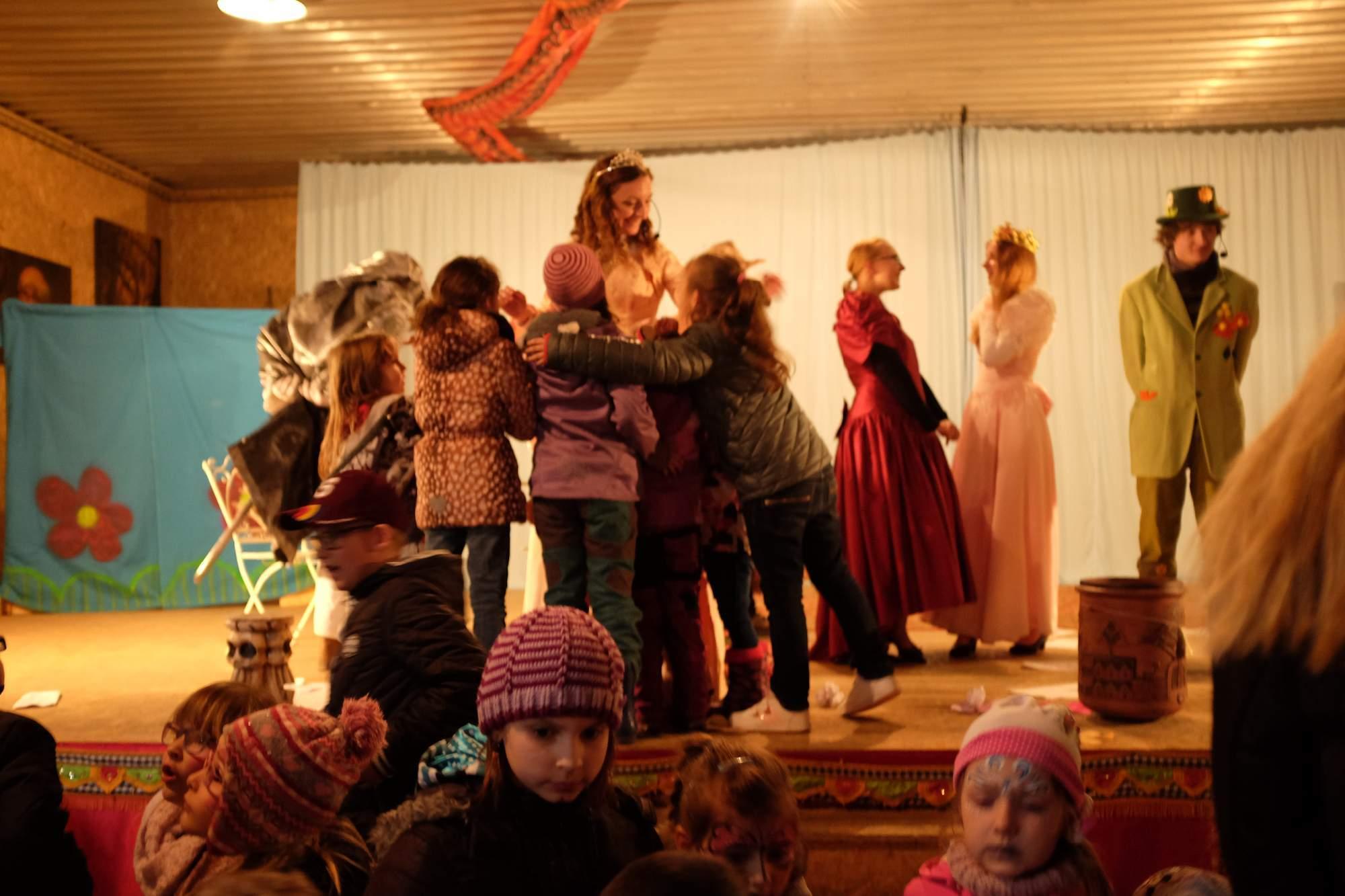 Nejoblíbenější byla pro malé diváky princezna. Foto: Pavlína Černá