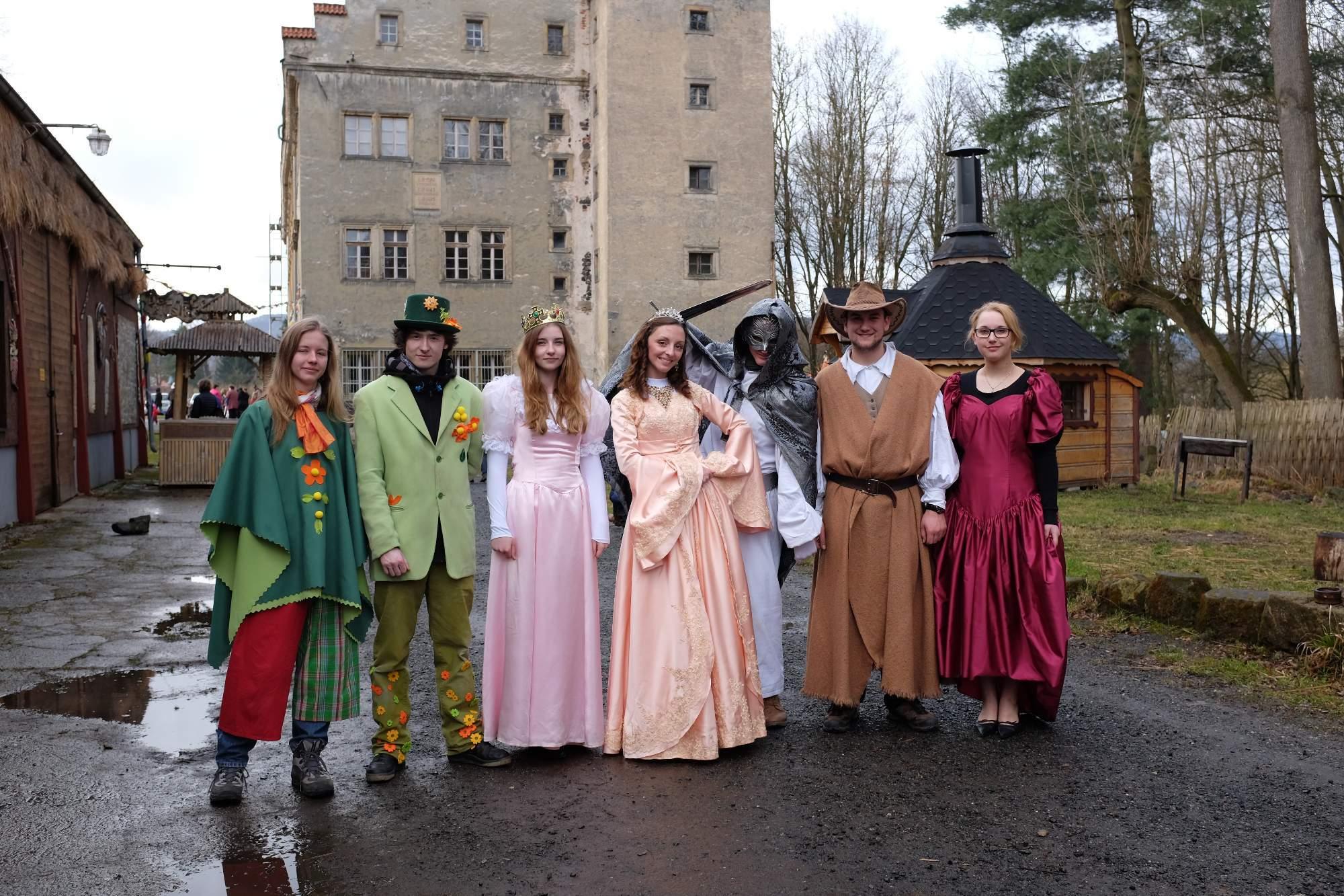 Herci si pro děti připravili několik pohádek. Foto: Pavlína Černá