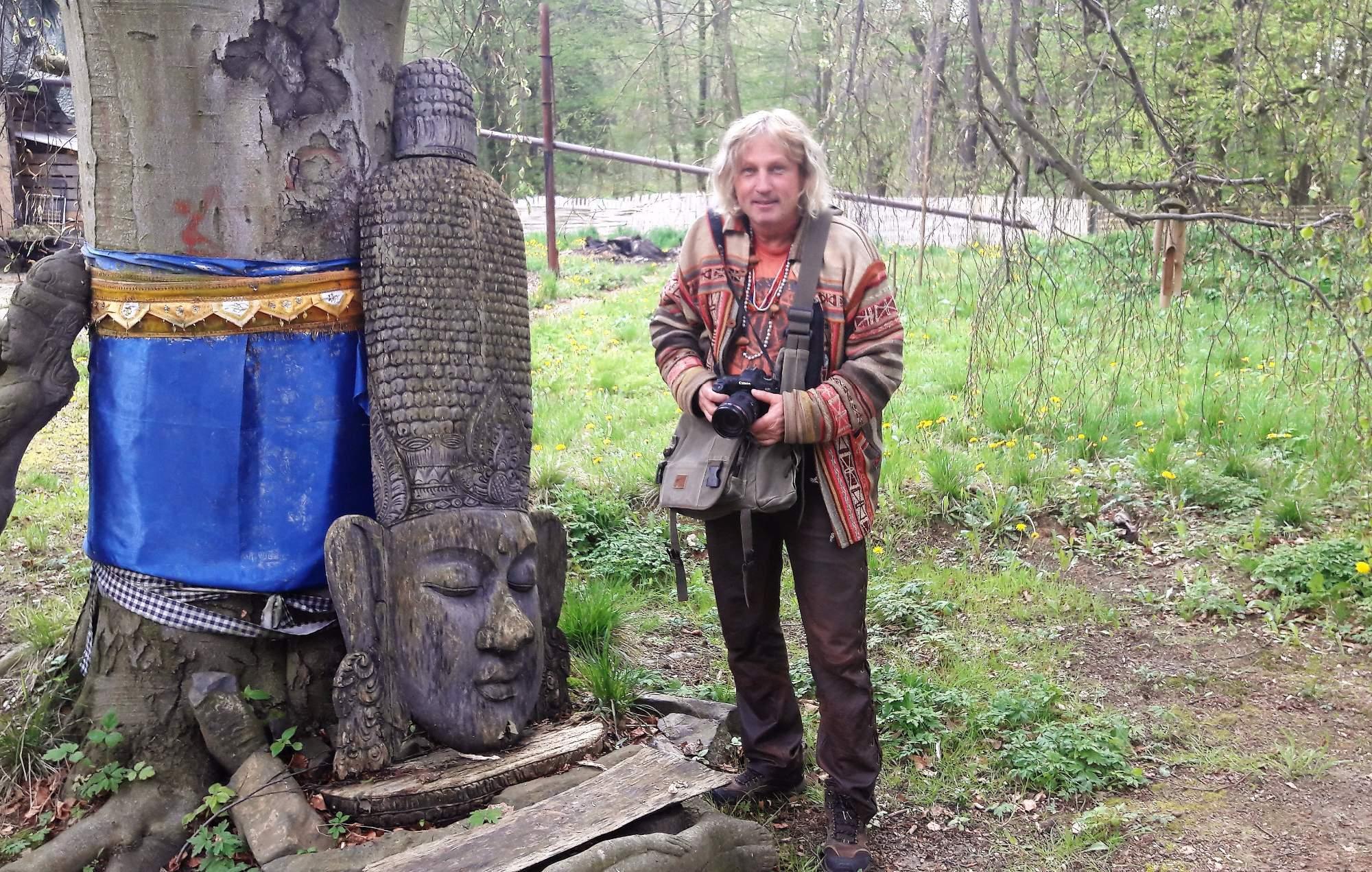 Cestovatel a majitel zámku v Horní Libchavě Oldřich Kilián. Foto: Pavlína Černá