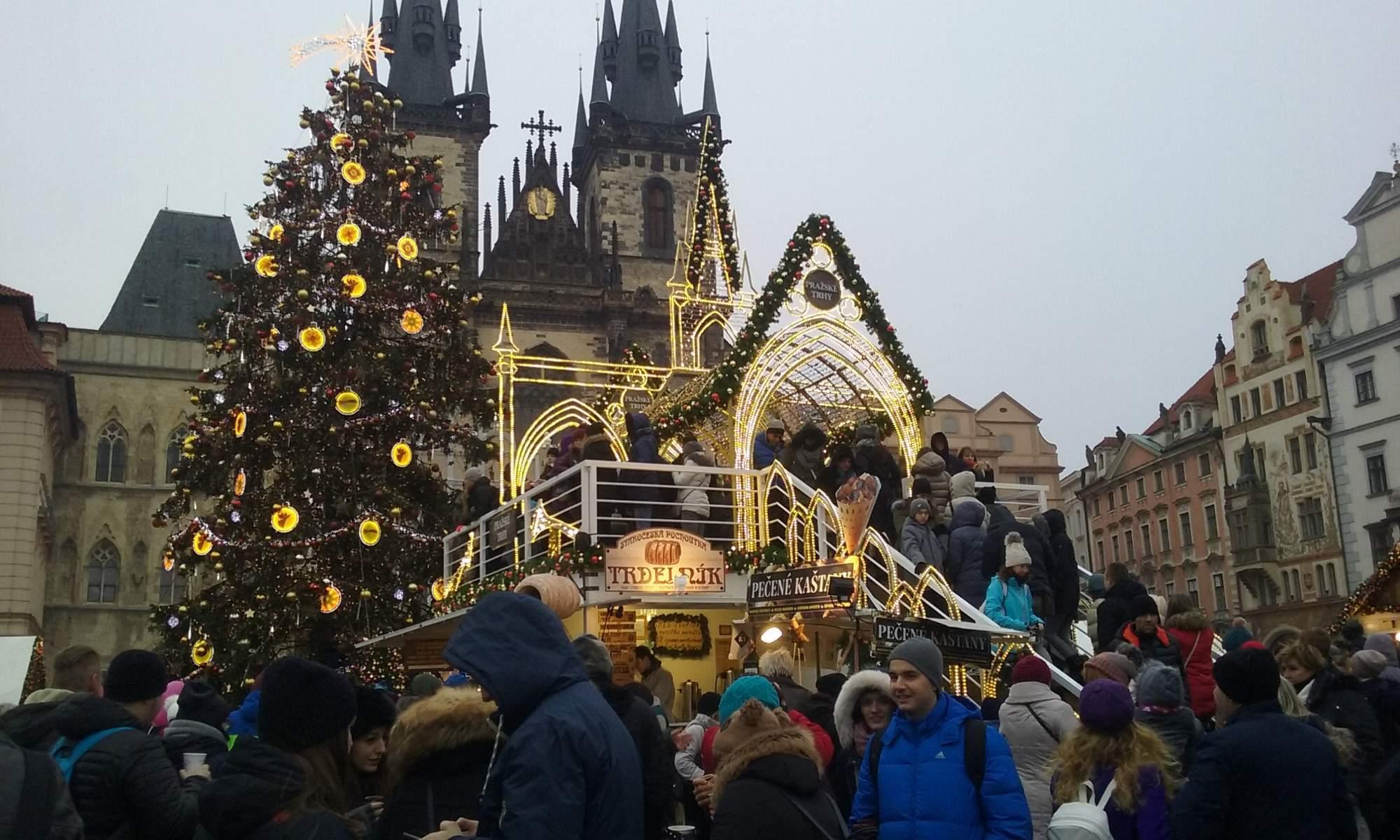 Pražské vánoční trhy