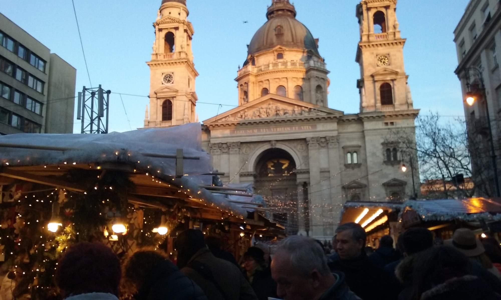 Trhy v Budapešti