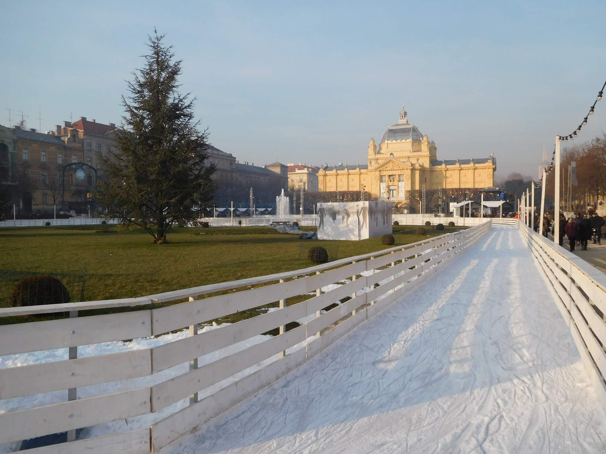 Kluziště v Záhřebu