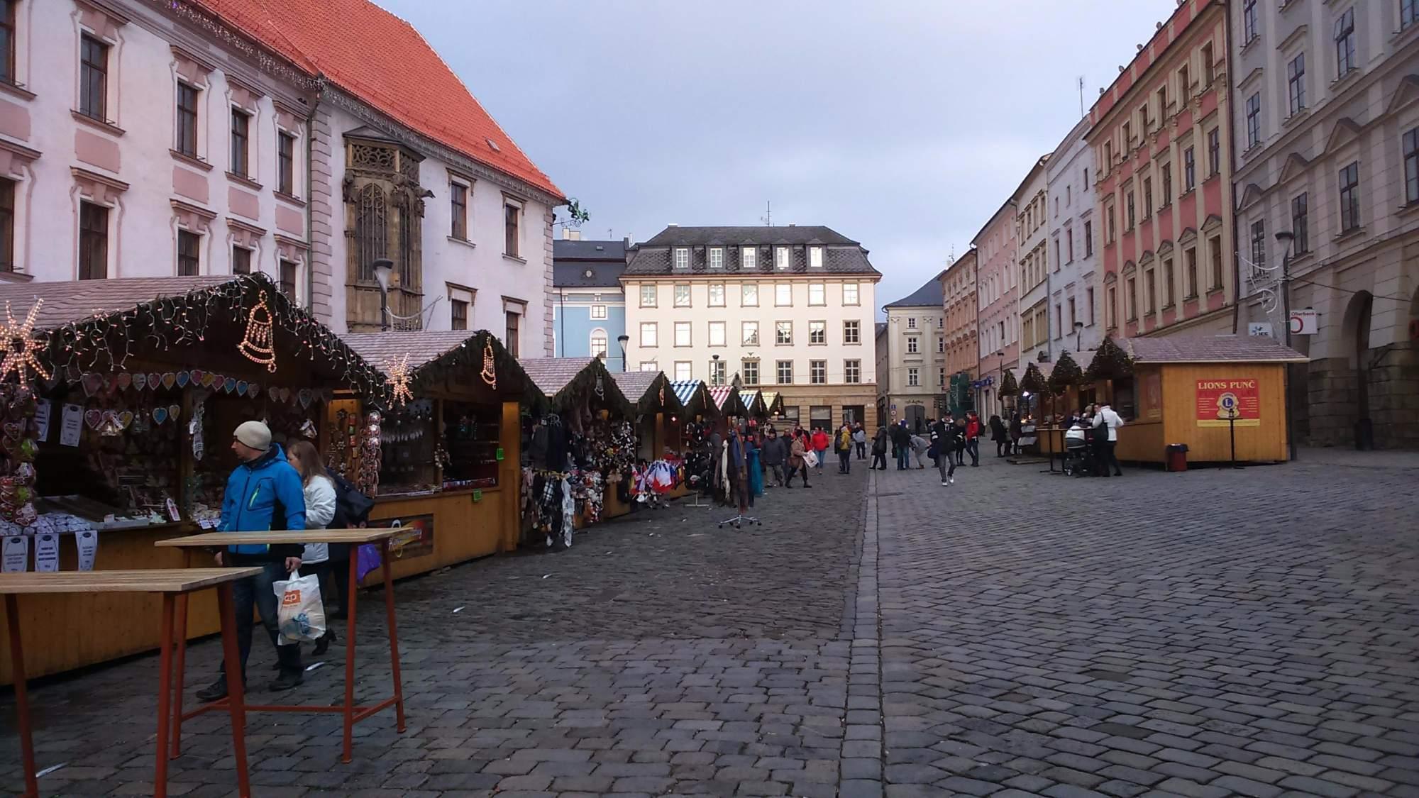 Trhy v Olomouci (Tereza Navrátilová)