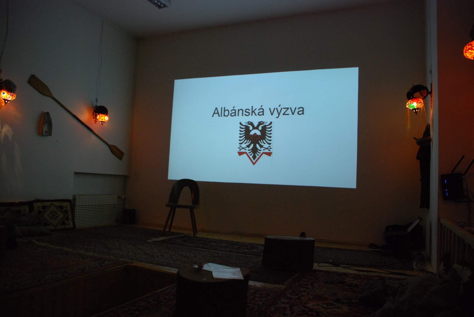 Jan Balák vyprávěl o založení Albánské výzvy. Foto: Jana Blahošová