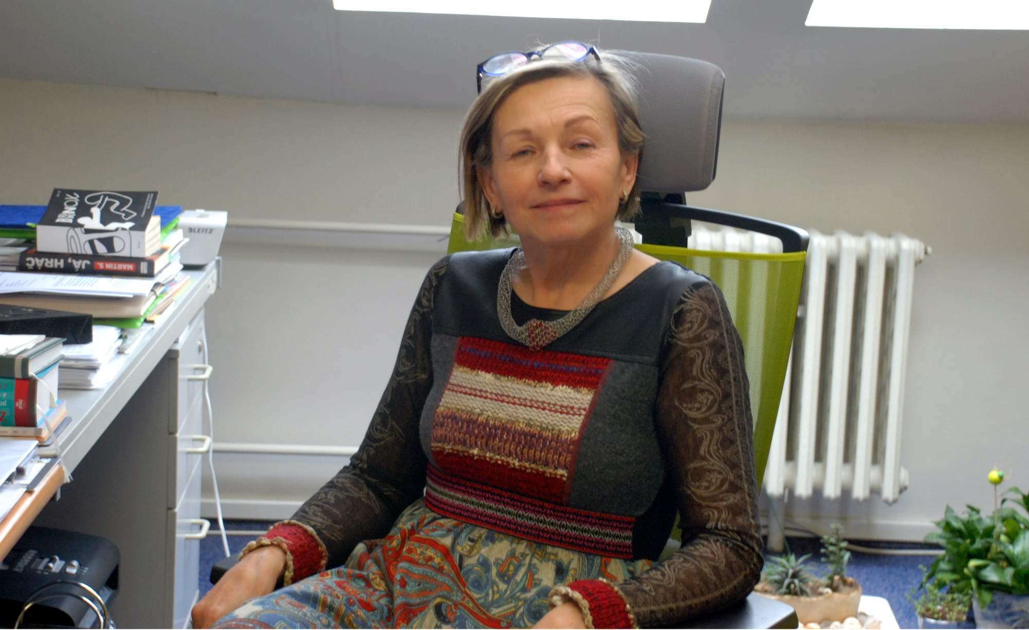 Ludmila Altmanová ve své kanceláři. Foto: Jana Blahošová