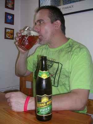 Černá hora Páter 11° sv. ležák 4,40% - Páter Vincenc Ševčík byl jeden ze zakladatelů pivovaru v Černé Hoře.