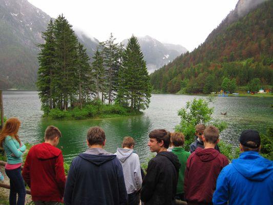 Lago del Predil - Kousek před slovinskou hranicí, jedno italské jezero :)