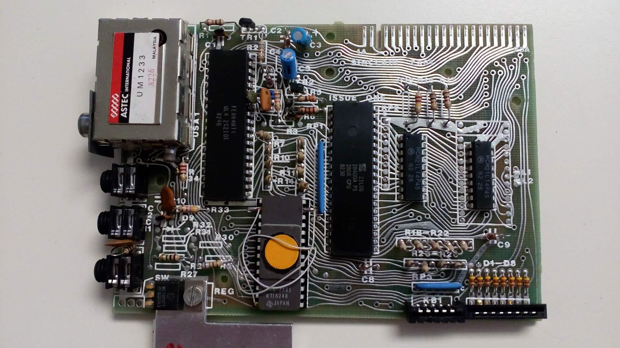ZX81 board