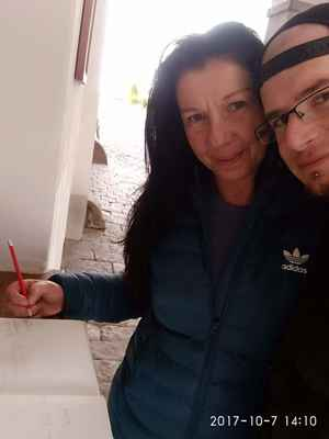 Eva a Já foto lasardoPictures 2017 Třeboň. - Evíčka a Já/Třeboň/Výlet r.2017  Foto/Dne:07.10.2017/o 14:10 hod./Třeboň Foto by:Tamáš.D'J&LasardoPictures©2017'    #noselfie #blbeselfiecka #hujeszelfiek  #nesnasimselfie #LocalGuides #lasardoPictures #trebon #lomnicenadluznici #sisipandi #babianezka Foto by:JT81©LasardoPictures 2017