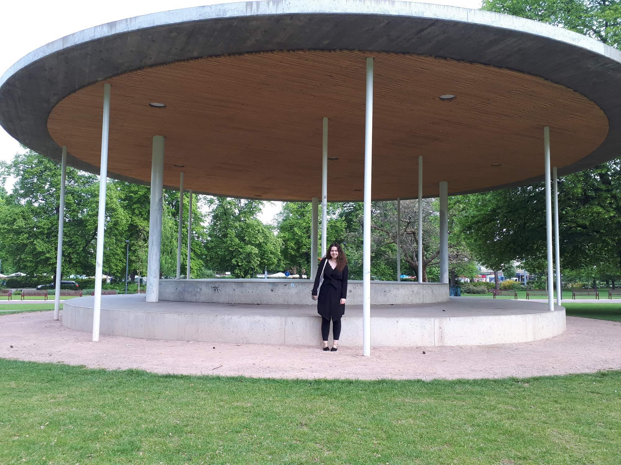 Ráda navštěvuje Park Komenského, který se před několika lety rekonstruoval. Foto: Jana Blahošová