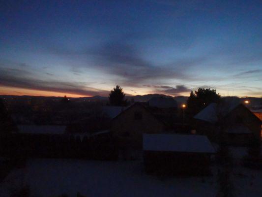sobotní ráno ve Varech 6.05 hodin